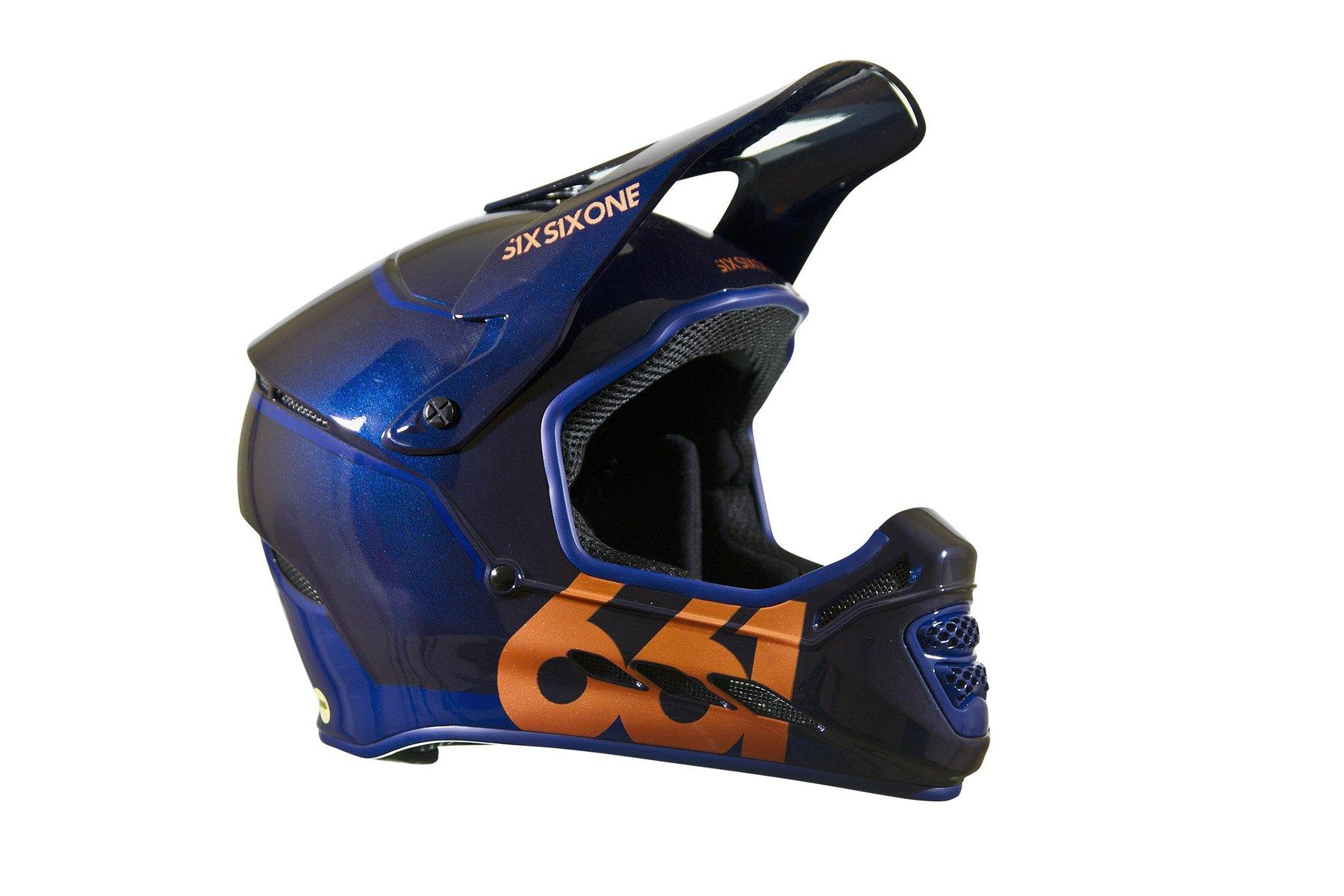 661 SIXSIXONE Reset Helmet - Midnight Copper   L